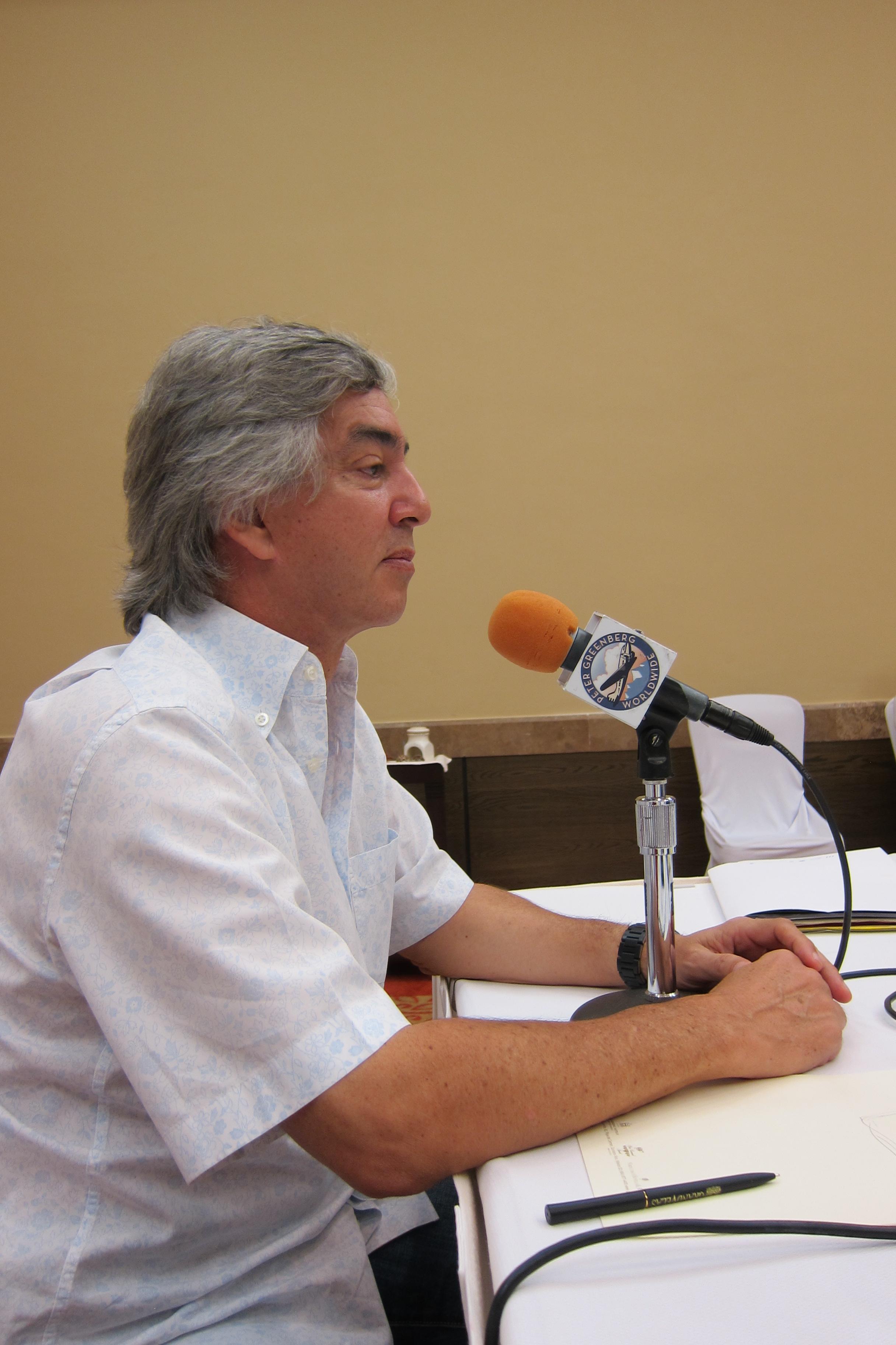 Ing. Juan Vela en Entrevista con Peter Greenberg