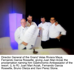 Director General of the Grand Velas Riviera Maya