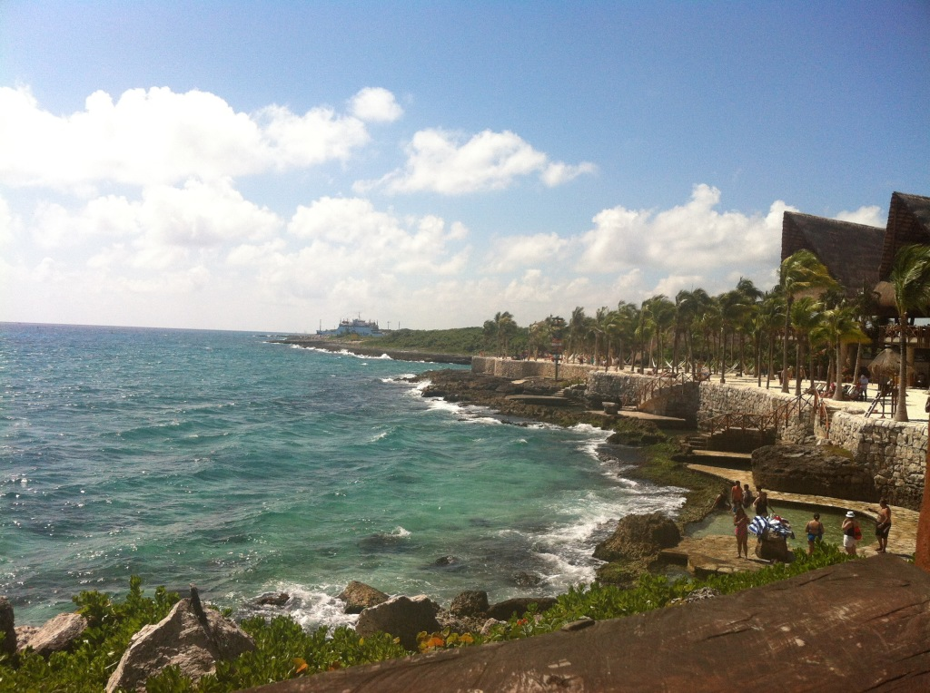 Beach Xcaret - Riviera Maya Travel Blog