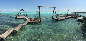 bacalar riviera maya laguna de 7 colores