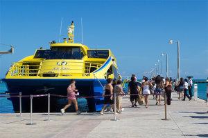 ferry riviera maya