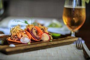 Tacos de pulpo, Grand Velas Riviera Maya