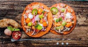 Tacos de espaldilla de res, Grand Velas Riviera Maya