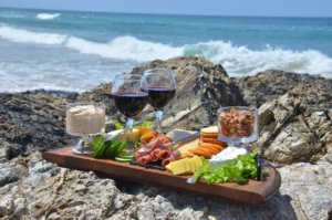 food and wine festival, riviera maya, beach and wine