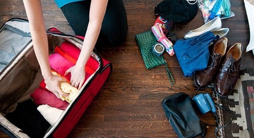 travel tips to packing