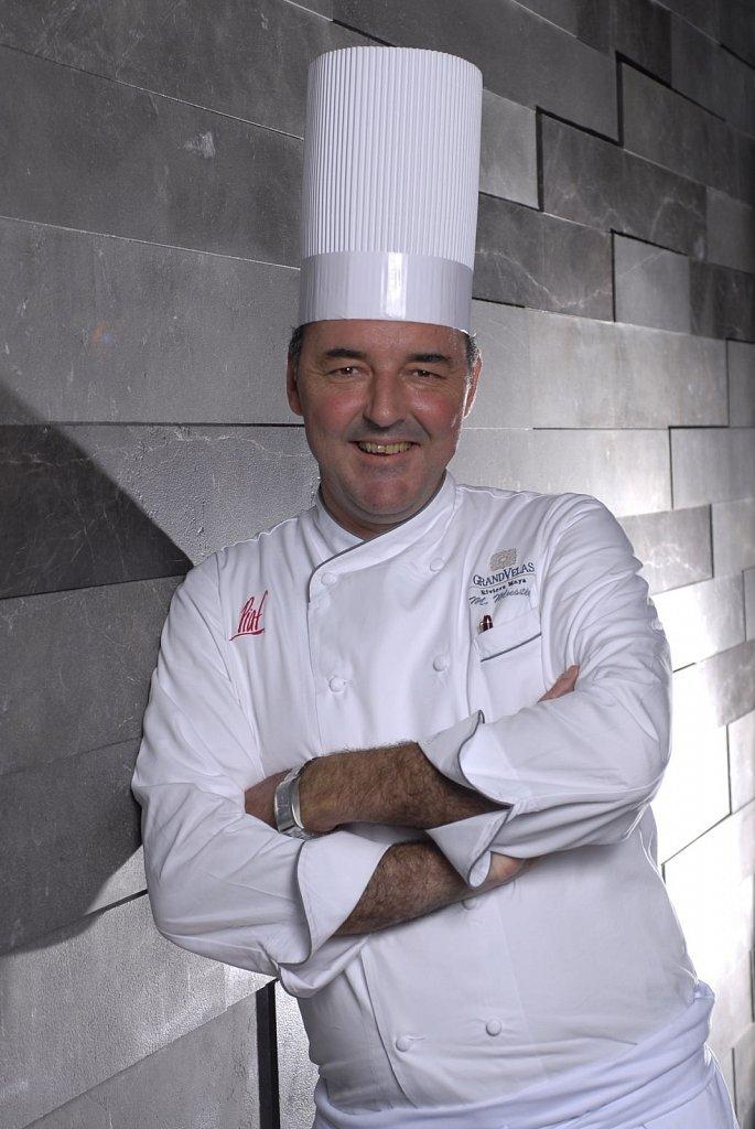 Chef Michel Mustière.