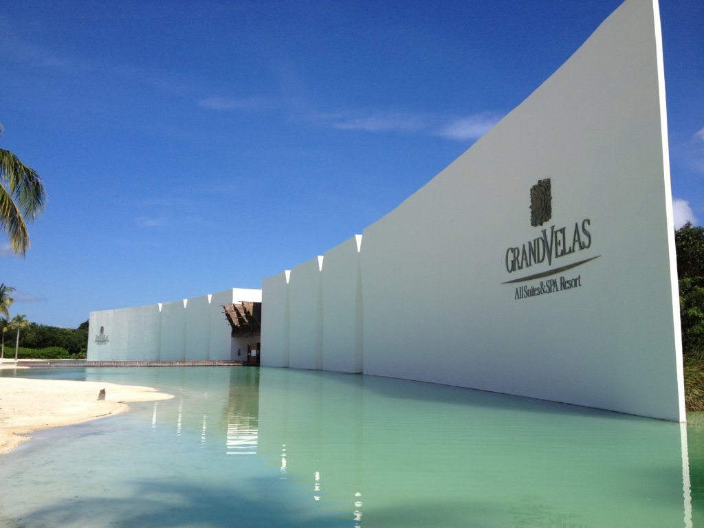 Entrance Grand Velas Riviera Maya