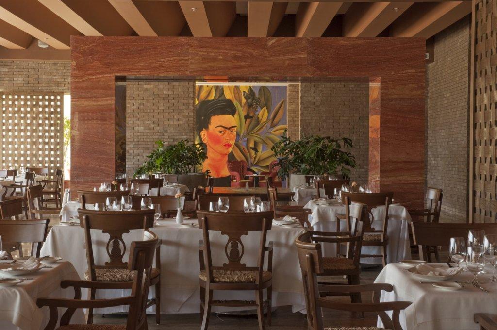 Frida en Grand Velas Riviera Maya