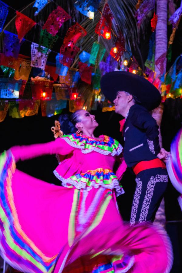 Baile típico de México