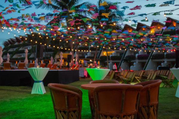 Fiesta mexicana en Riviera Maya
