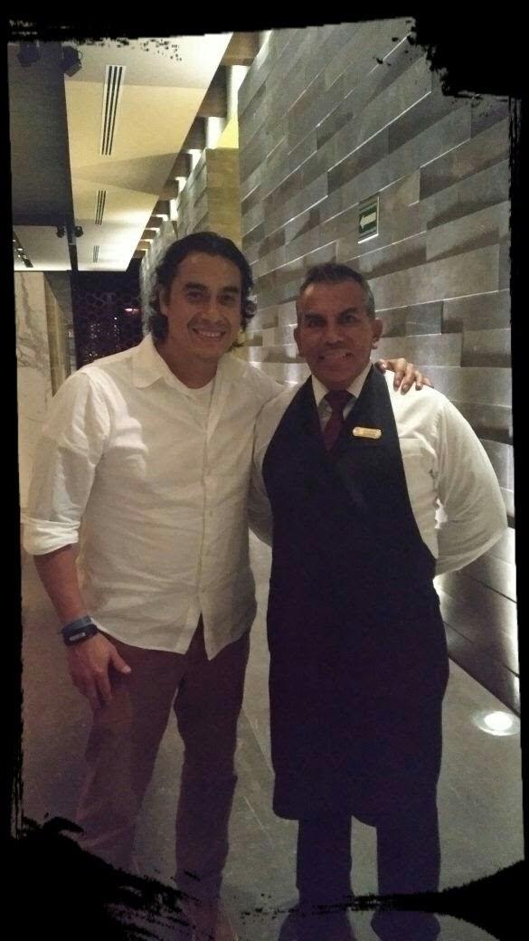 Chef Carlos Gaytán and Sommelier Eduardo Quiroga