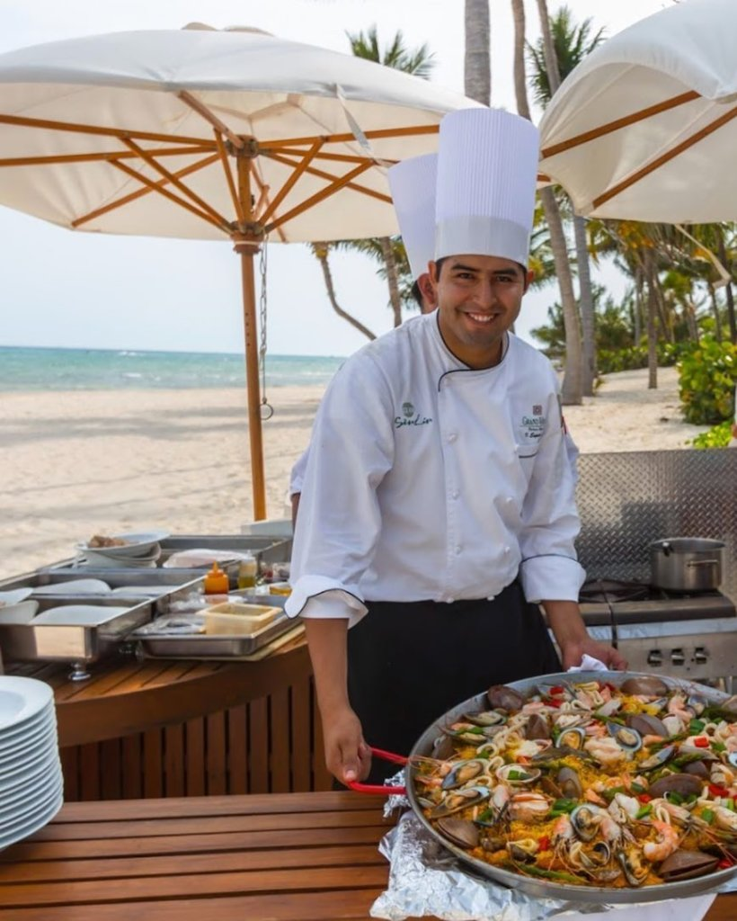 Chef at Grand Velas Riviera Maya