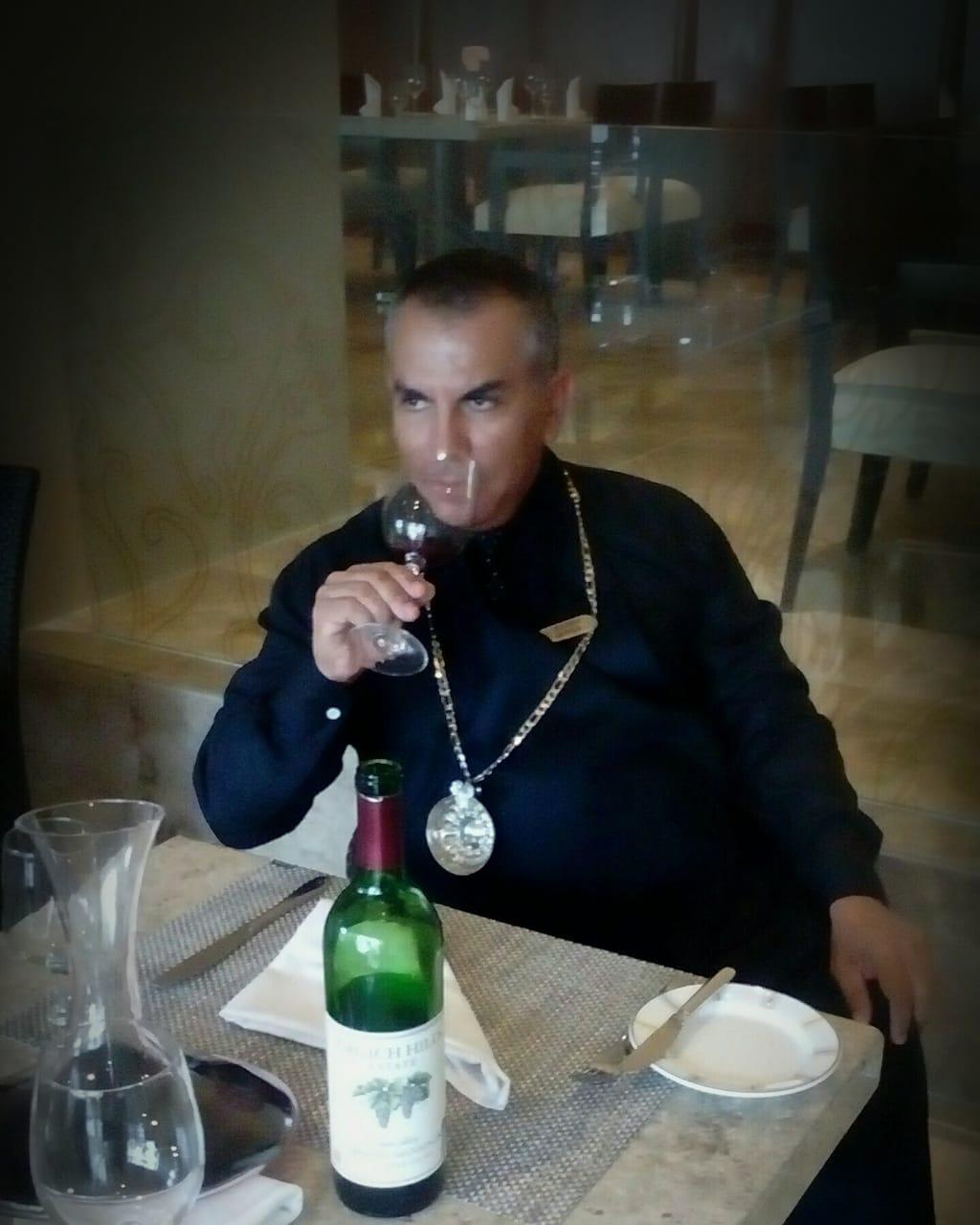 Maître Sommelier Eduardo Quiroga