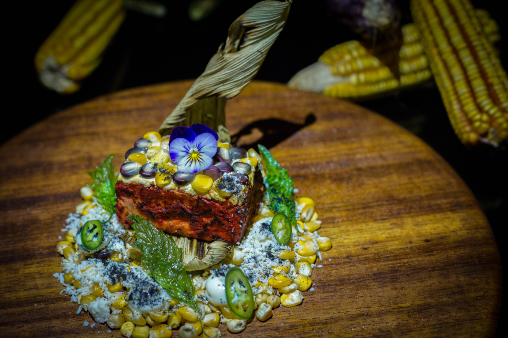 A delicious gourmet dish from Frida, a Grand Velas Riviera Maya restaurant